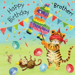 TOT18 - Brother Birthday Card